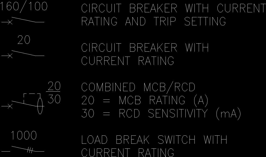 Electric Symbols 10 Dwg Block For Autocad Designs Cad