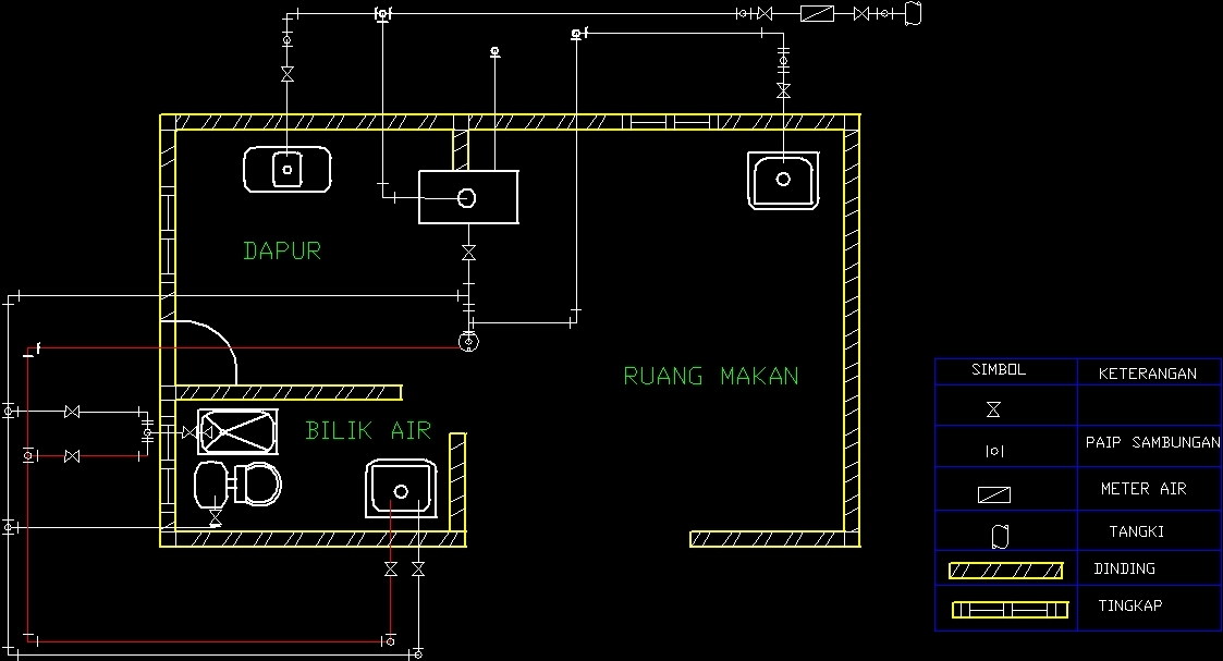 Electrical Circuit Project DWG Full Project for AutoCAD