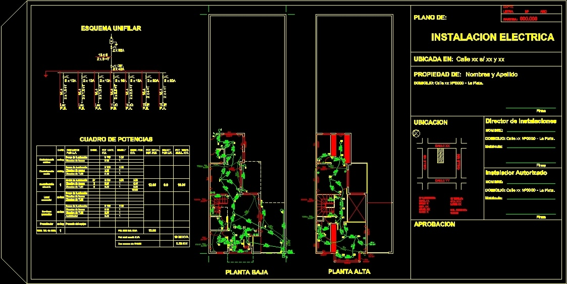 example municipal electric plan 2 dwg plan for autocad \u2022 designs Highway Design Plans example municipal electric plan 2 dwg plan for autocad