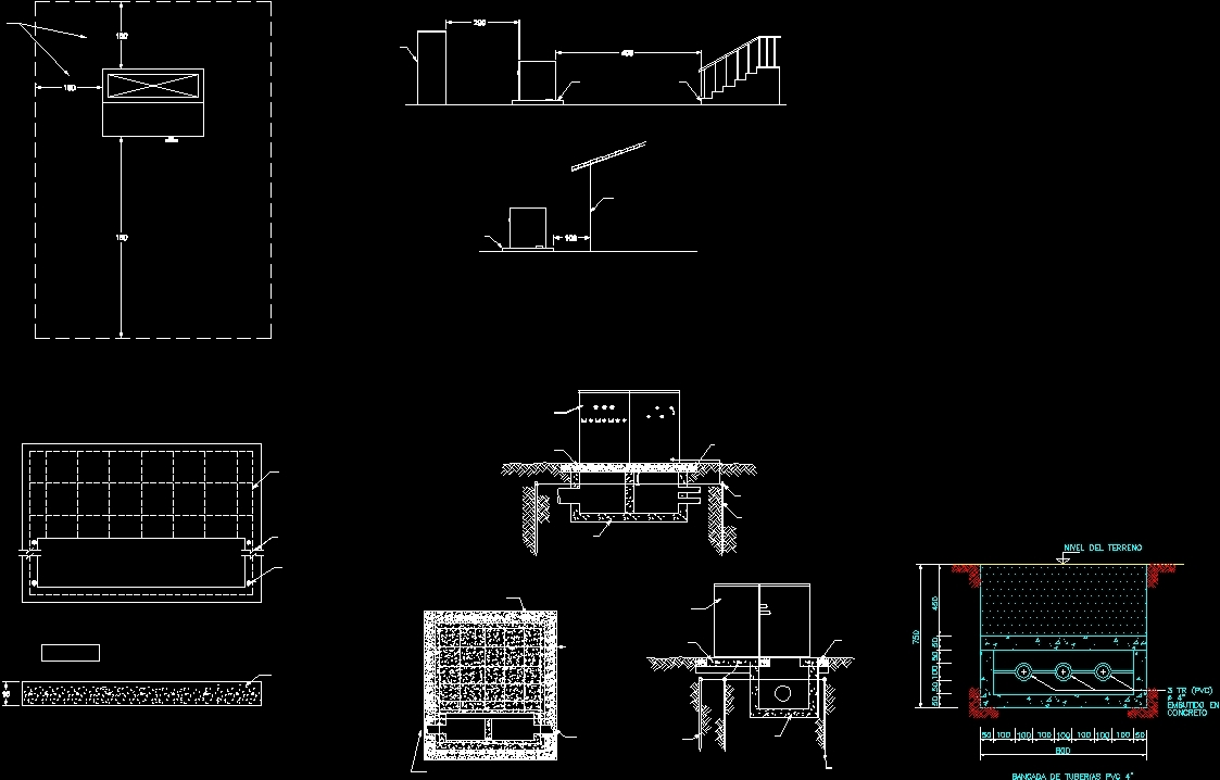 Pad Mounted Transformers Detail Dwg Detail For Autocad