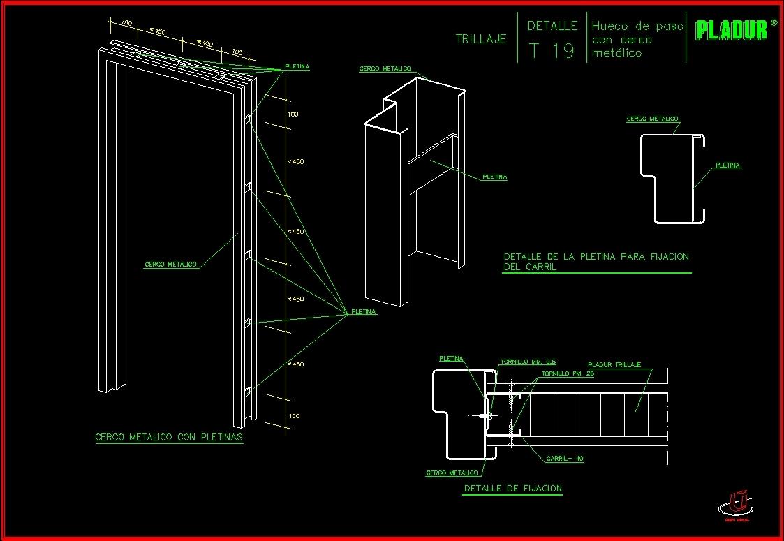 Pladur Details Dwg Detail For Autocad Designs Cad