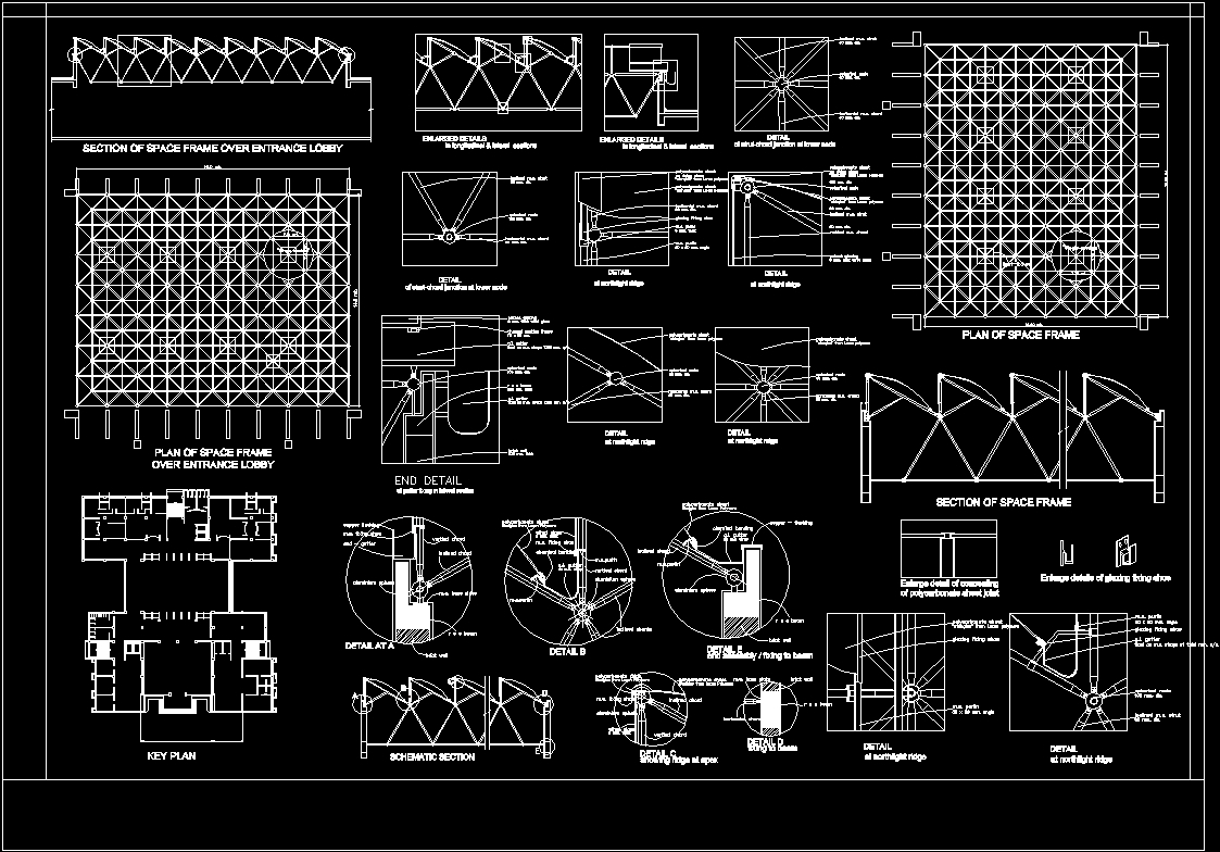 Space Frame DWG Detail for AutoCAD • Designs CAD