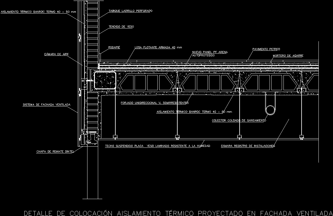 Suspended Ceiling Dwg Section For Autocad Designs Cad
