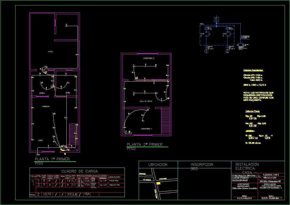 Unifamily Electric Drawing Dwg Block For Autocad Designs Cad Electrical Symbols File Type