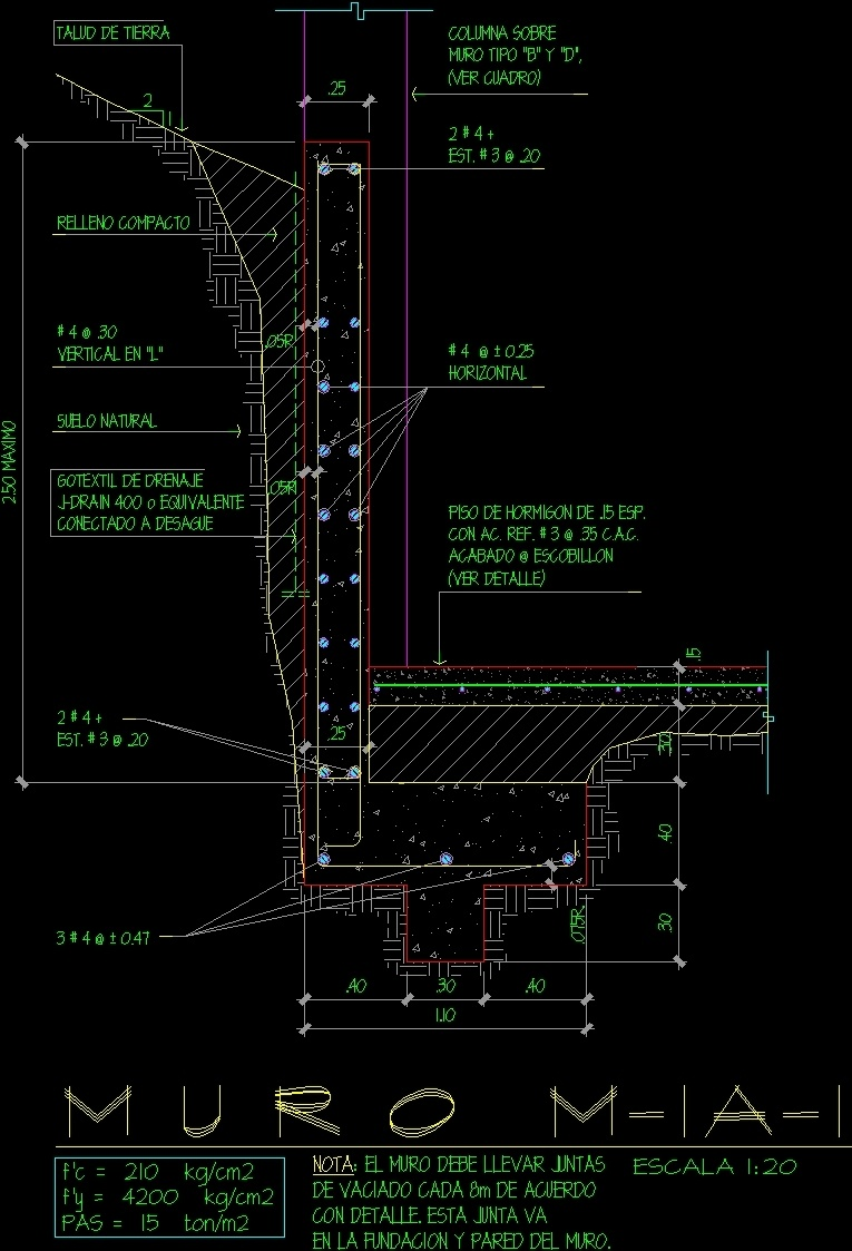 Wall Detail Dwg Detail For Autocad Designs Cad