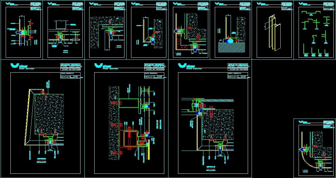 Alucobond Panels Detail Dwg Section For Autocad Designs Cad