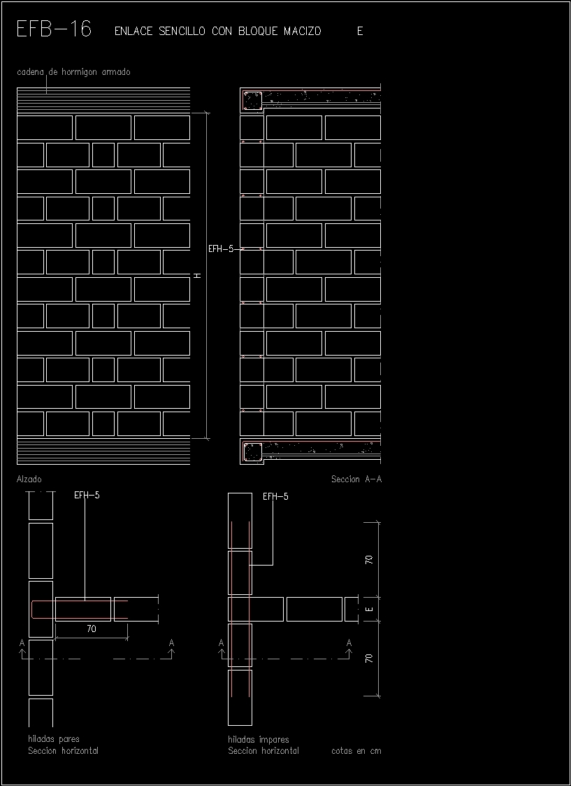 Blocks And Walls Dwg Detail For Autocad Designs Cad