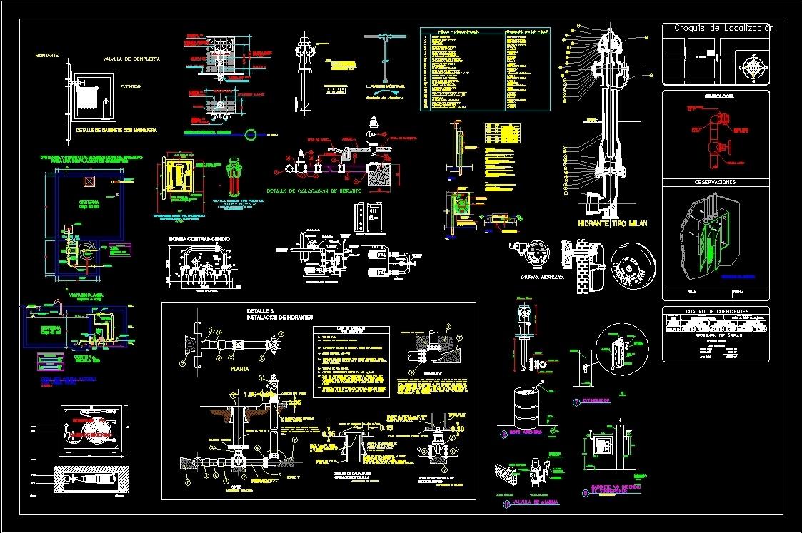 Building Departmental Dwg Plan For Autocad Designs Cad