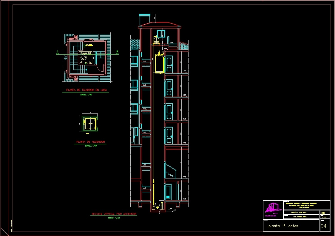 Elevator Detail Dwg Section For Autocad Designs Cad