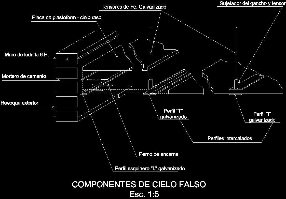 False Ceiling Dwg Detail For Autocad Designs Cad