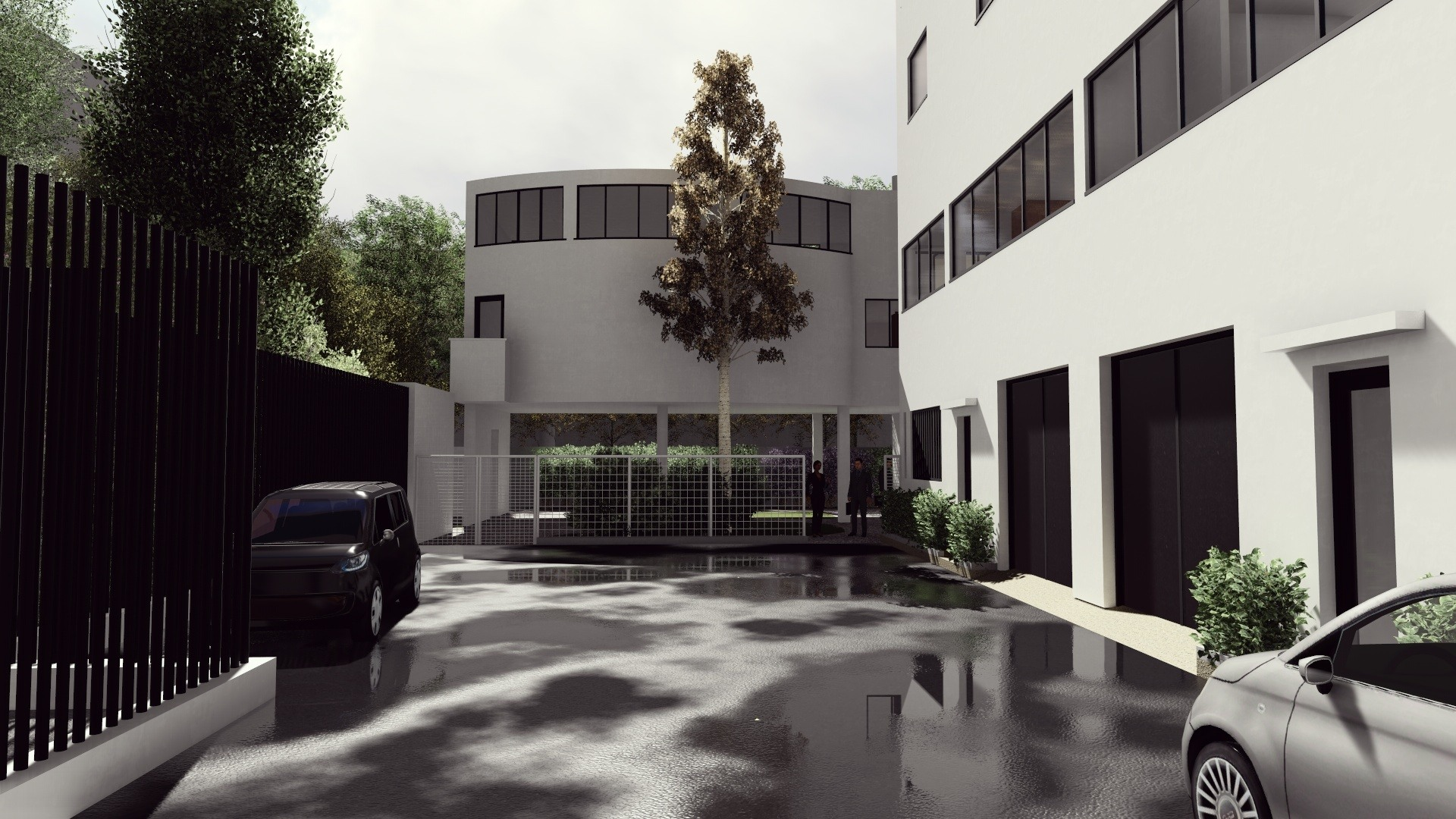 Casa La Roche Jeanneret Dwg Section For Autocad Designs Cad