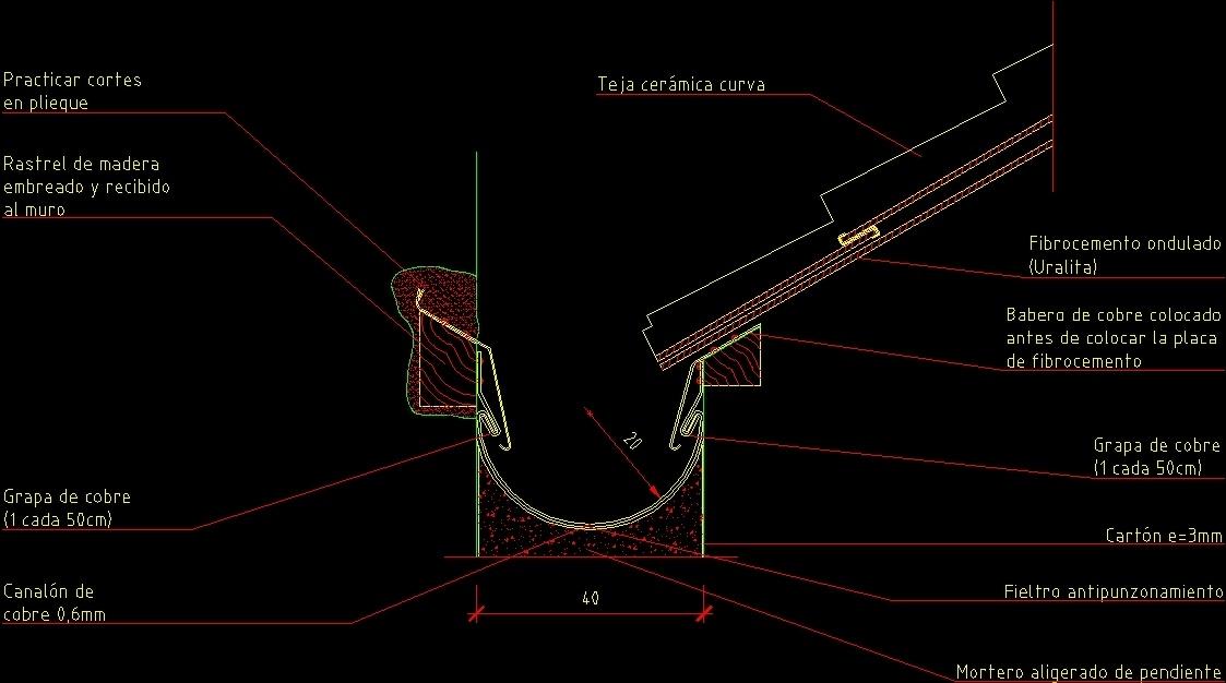 Hanging Gutter Dwg Detail For Autocad Designs Cad