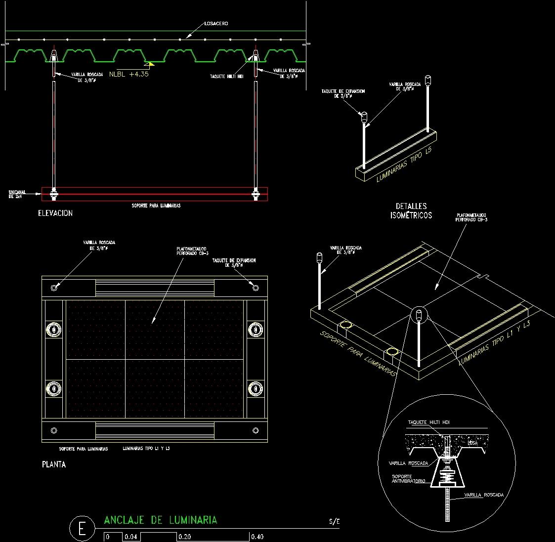 Cad Hanger Blocks - 0425