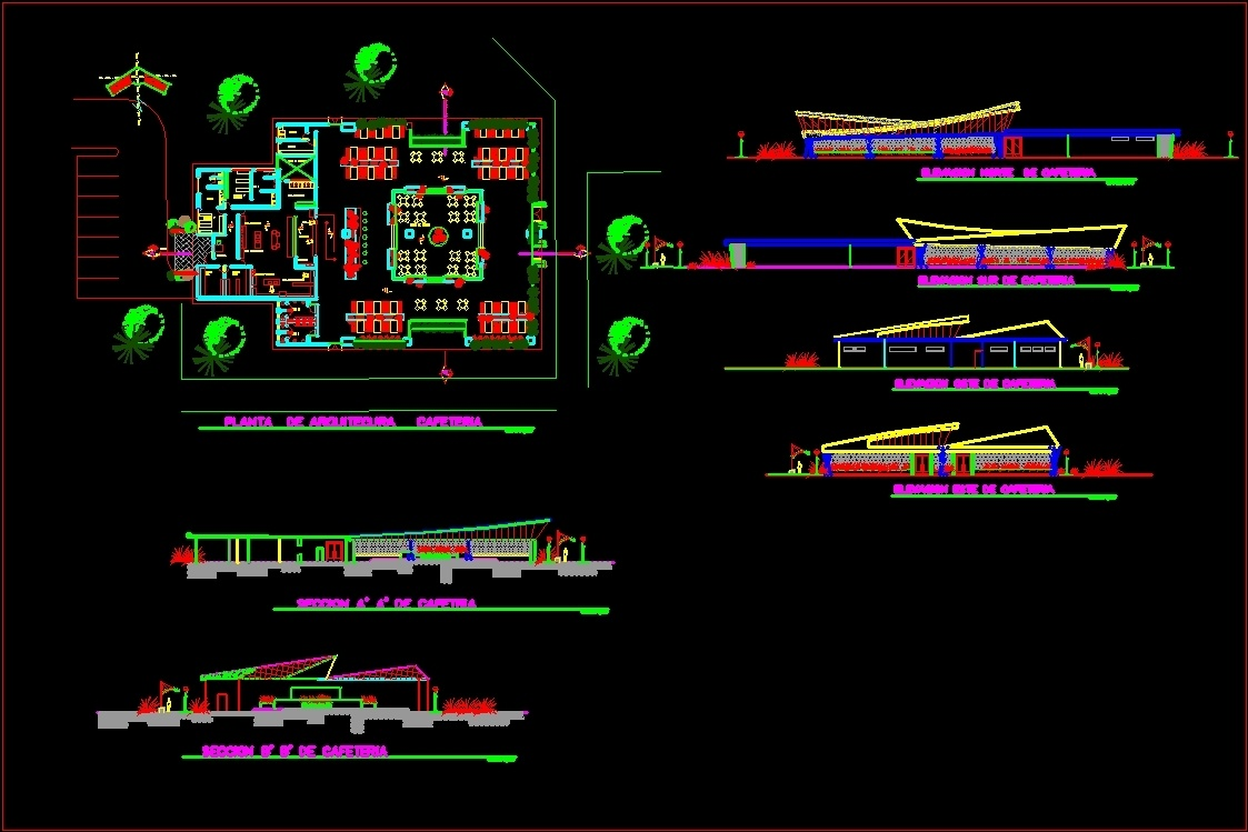 Maintenance Office Project Dwg Full Project For Autocad