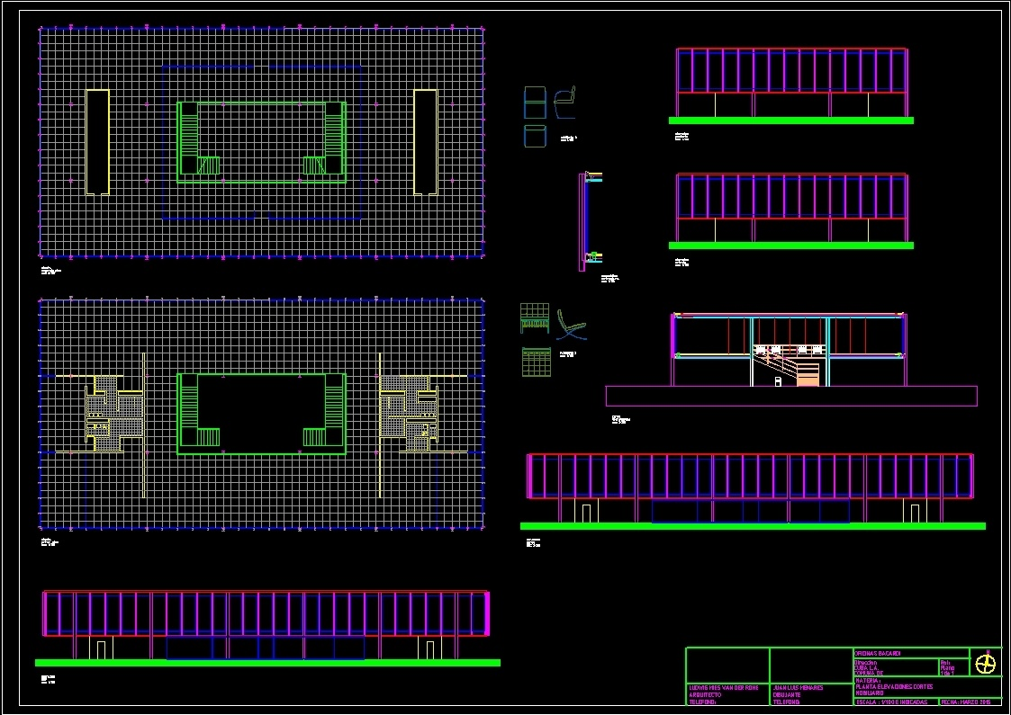 Muebles Mies Van Der Rohe Autocad - Mies Van Der Rohe Bacardi Offices Dwg Block For Autocad Designs Cad[mjhdah]https://designscad.com/wp-content/uploads/2017/12/mies_van_der_rohe_chair_-_1926_dwg_block_for_autocad_31001.jpg