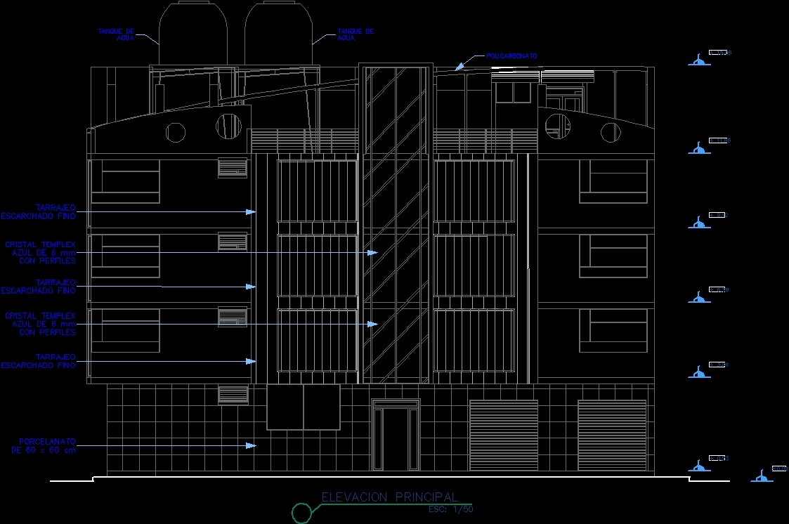 Multifamily apartment house dwg plan for autocad designs cad for Apartment design autocad