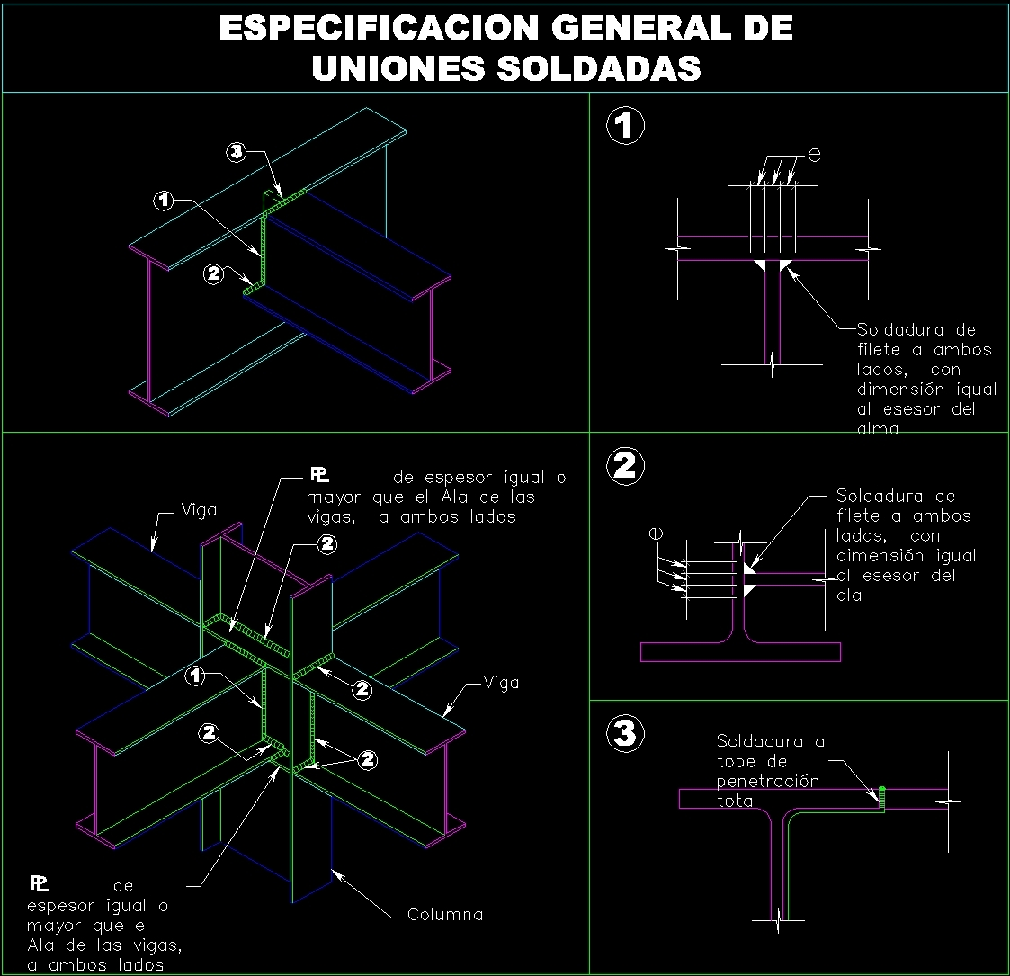 Structural Specifications Of Welded Joints Dwg Block For Autocad Welding Diagram Additional Screenshots