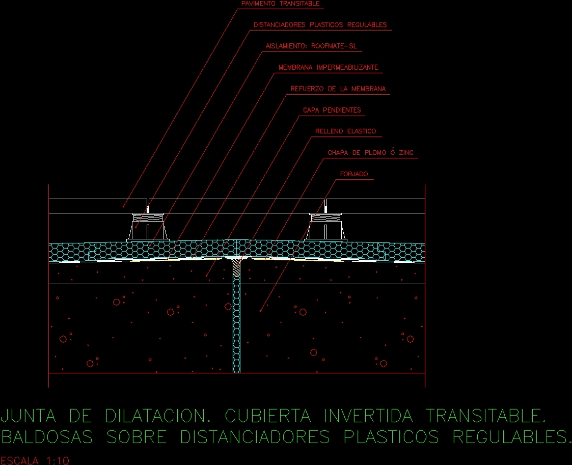 Travel Roof Details Dwg Detail For Autocad Designs Cad