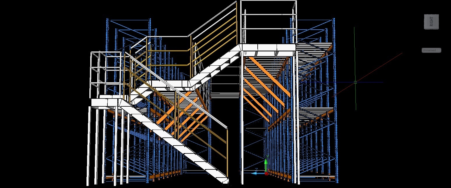 Pallet Racking Dwg Block For Autocad Designs Cad