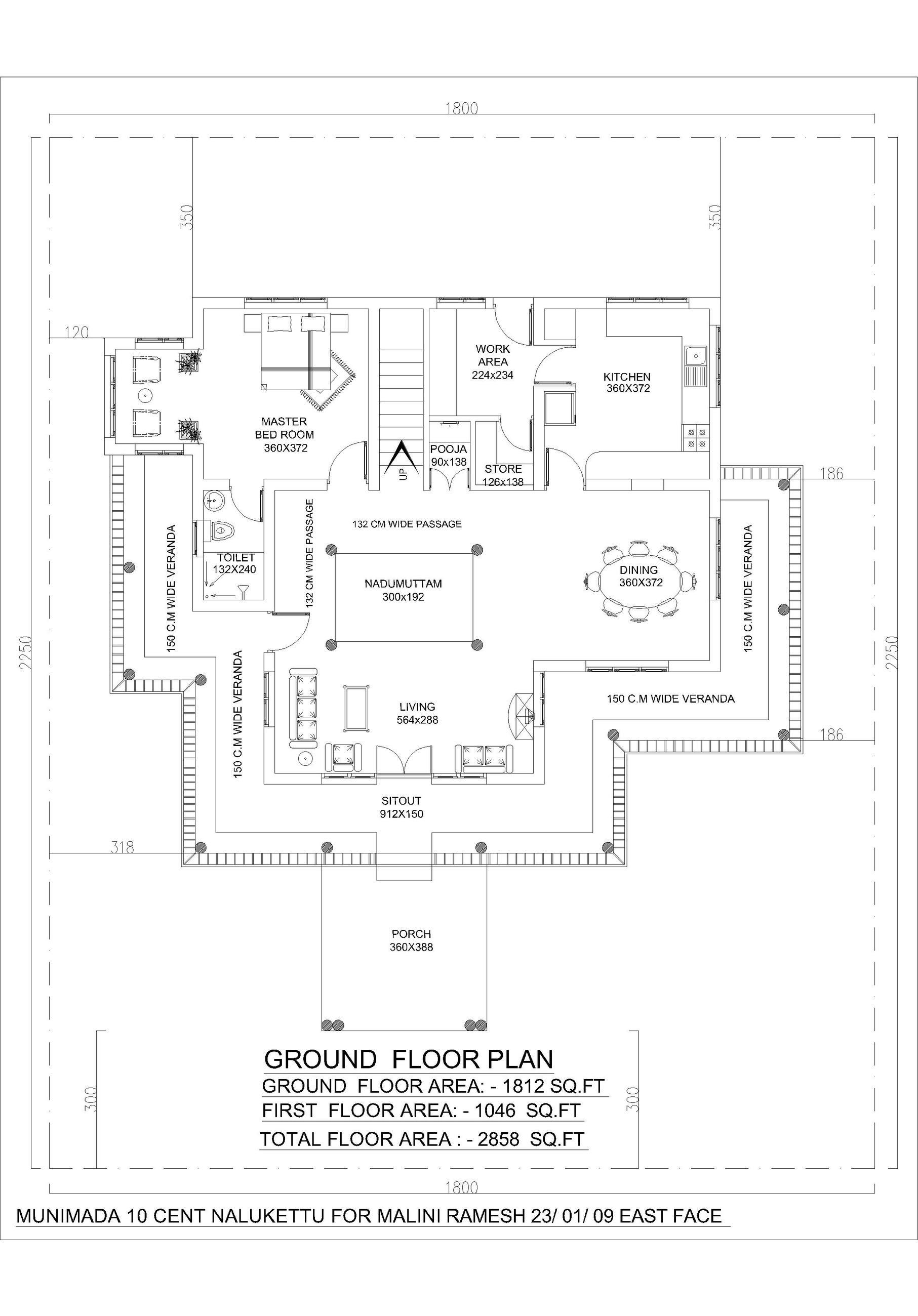 Floor Plan To Elevation : Nalukettu dwg elevation for autocad designs cad