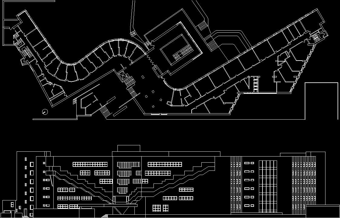 Aaltoalvar Bakerhouse DWG Plan For AutoCAD
