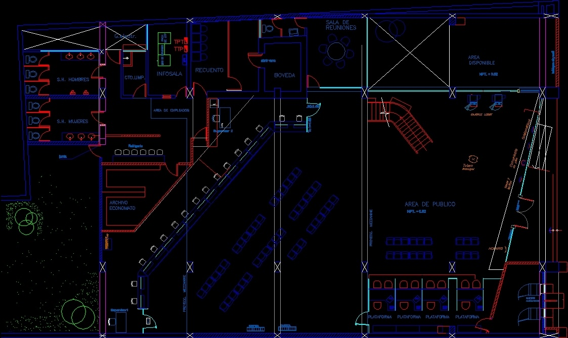 Bureau open space dwg bureau dwg frais ways to open dwg files