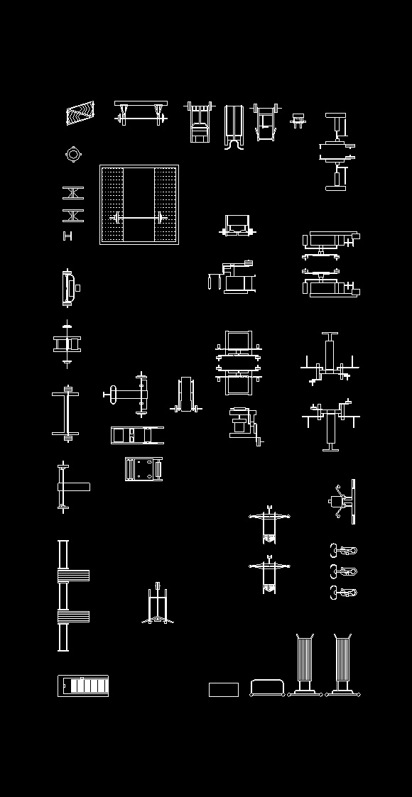 Blocks of gym equipment dwg block for autocad designs cad