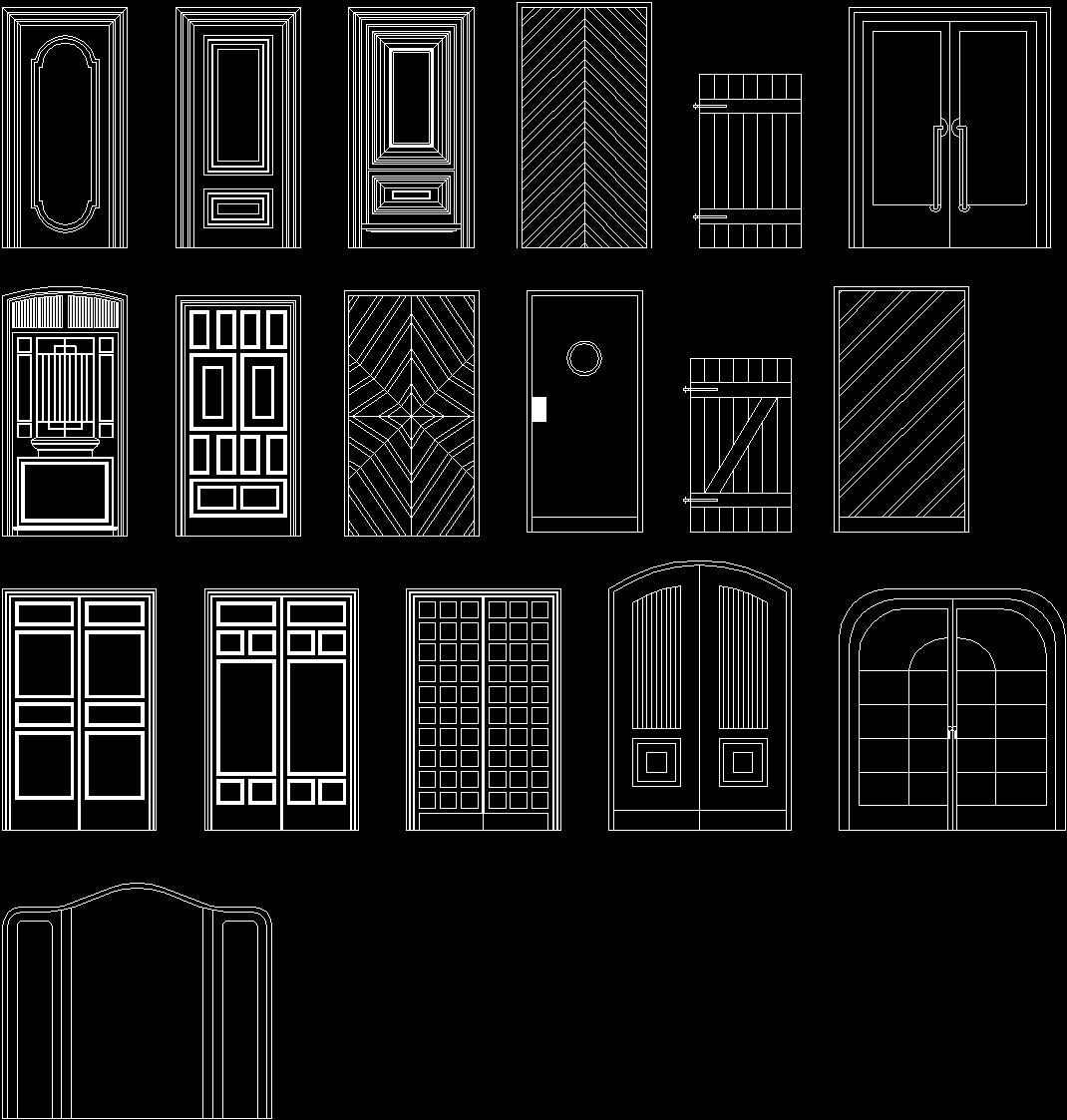 Autocad doors dwg aluminium sliding door detail dwg dwg for Door design autocad