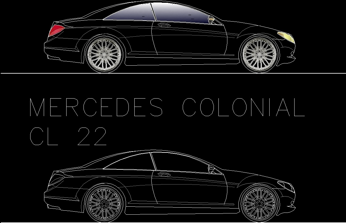 how to design a car in autocad pdf