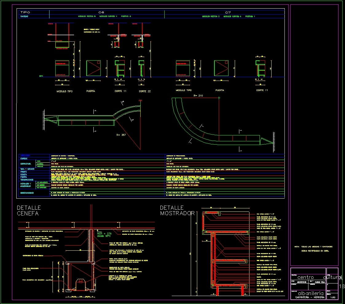 Cultural Center - Montevideo DWG Section for AutoCAD ...