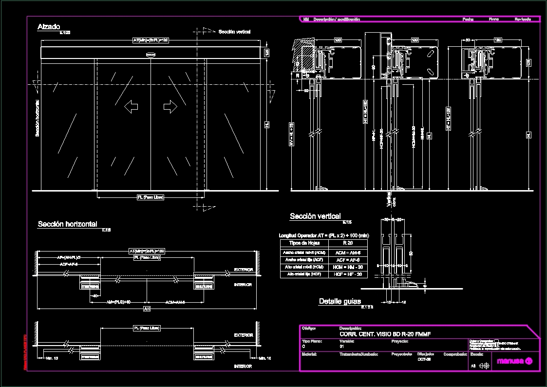 Details Curtin Wall Glass Facade Dwg Detail For Autocad