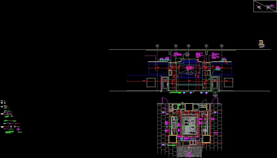Display Kitchen Design Dwg Detail For Autocad Designs Cad