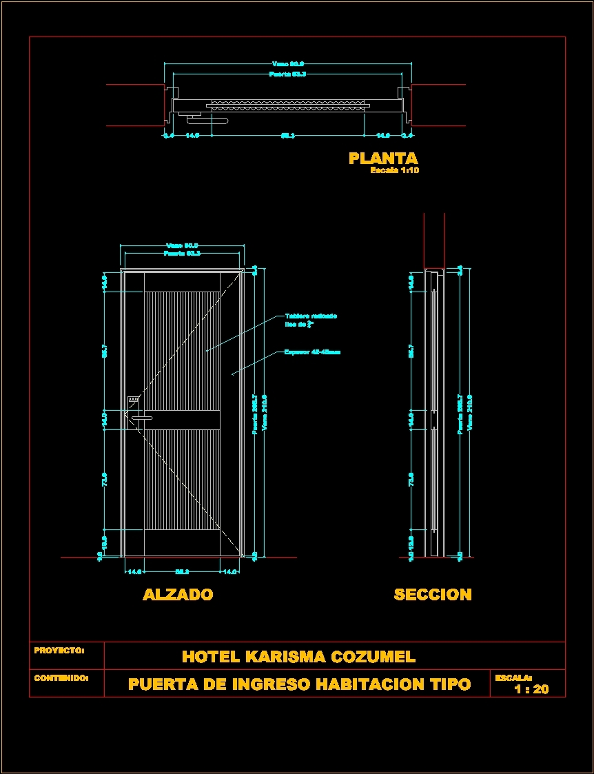 Door Dwg Section & 28+ Collection Of Door Section Drawing Sc