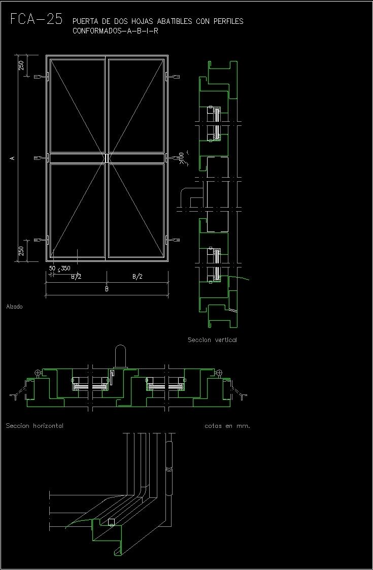Door Details Dwg & Remarkable Door Details Door Head Jamb ...