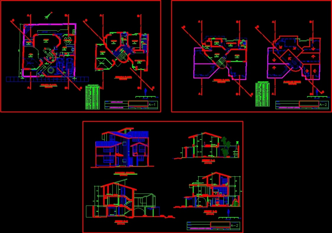 Duplex House Dwg Section For Autocad Designs Cad # Muebles Gimnasio Dwg