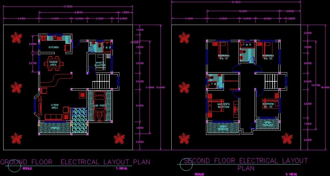 Floor Plan Dwg Plan For Autocad Designs Cad