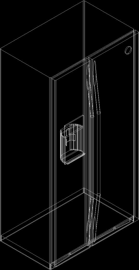 Fridge 3d Dwg Model For Autocad Designs Cad