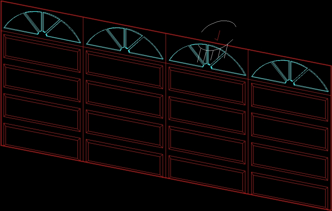 Garage Door Cad Garage Door Ideas