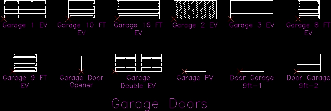 Garage Doors Dwg Block For Autocad Designs Cad Make Your Own Beautiful  HD Wallpapers, Images Over 1000+ [ralydesign.ml]