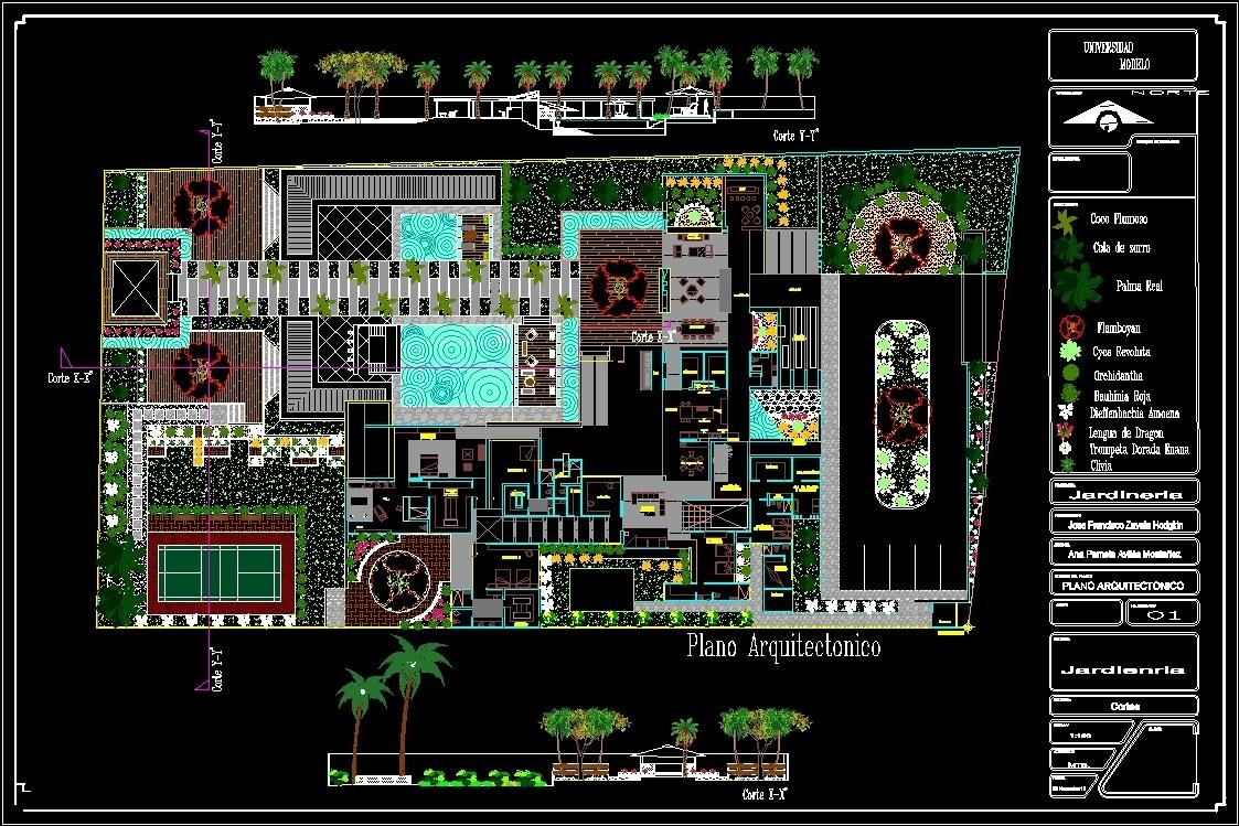 Garden Design DWG Block for AutoCAD • Designs CAD