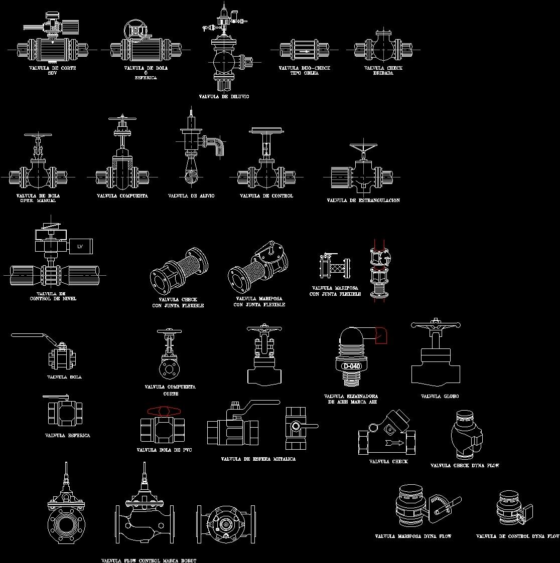 Gate Valve 2d Dwg Detail For Autocad Designs Cad