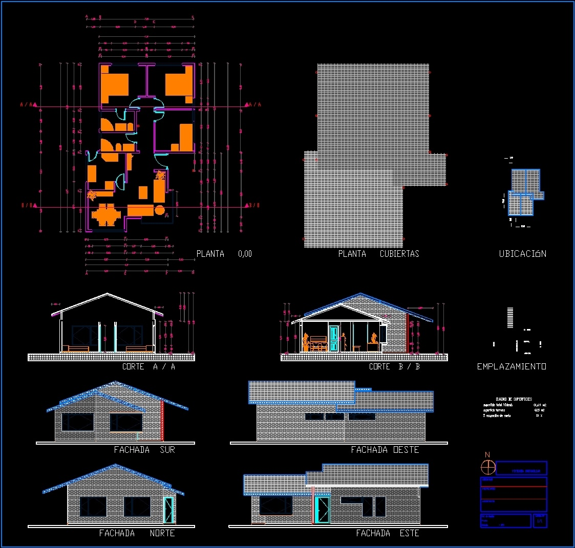 House dwg section for autocad designs cad for House cad