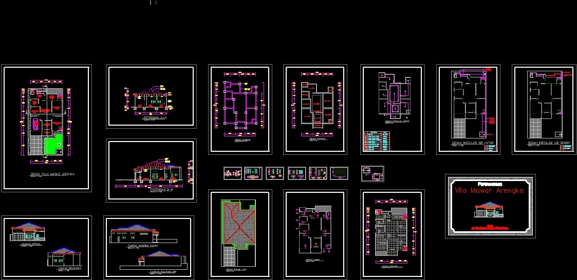 House Dwg Section For Autocad Designs Cad