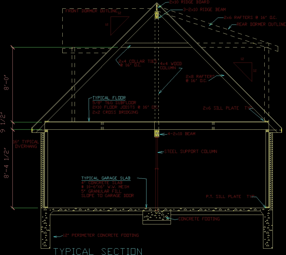 Housing Project Dwg Full Project For Autocad Designs Cad