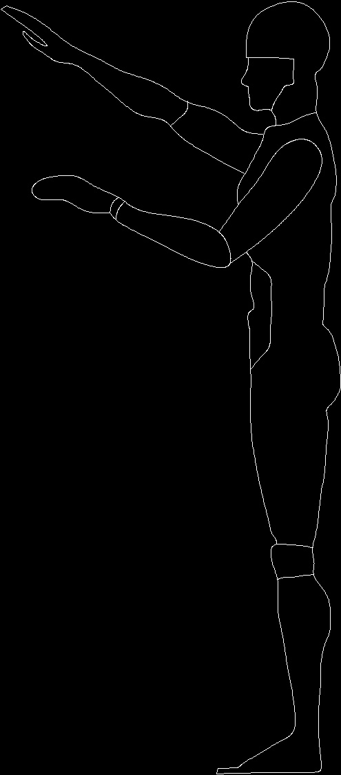 Human Figures Dwg Block For Autocad Designs Cad