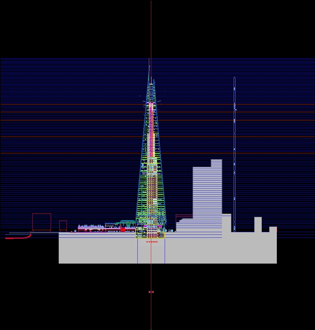 London Bridge Tower Dwg Block For Autocad Designs Cad