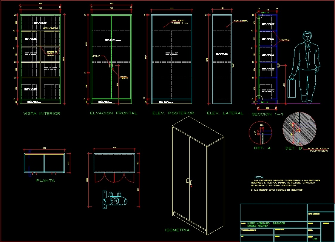 Metal Cabinet Dwg Section For Autocad Designs Cad