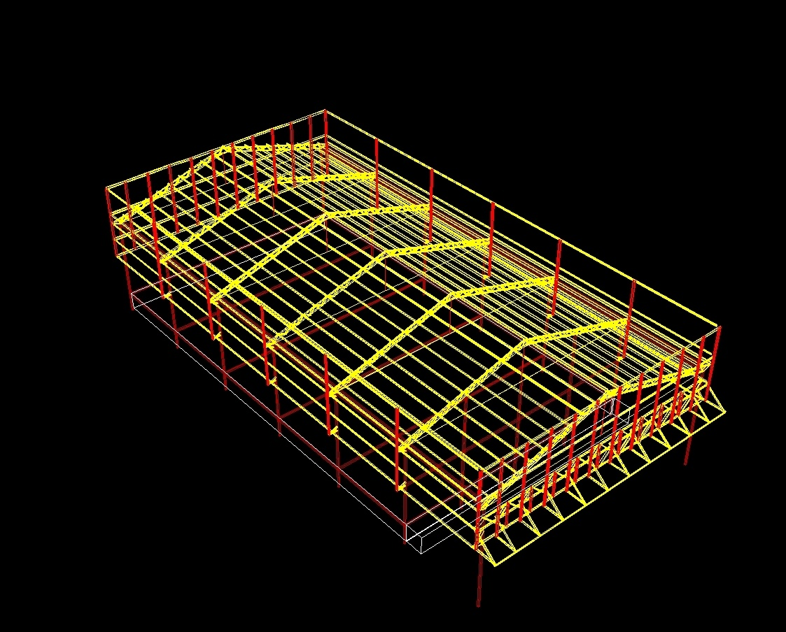 Metal Shed DWG Block for AutoCAD • Designs CAD
