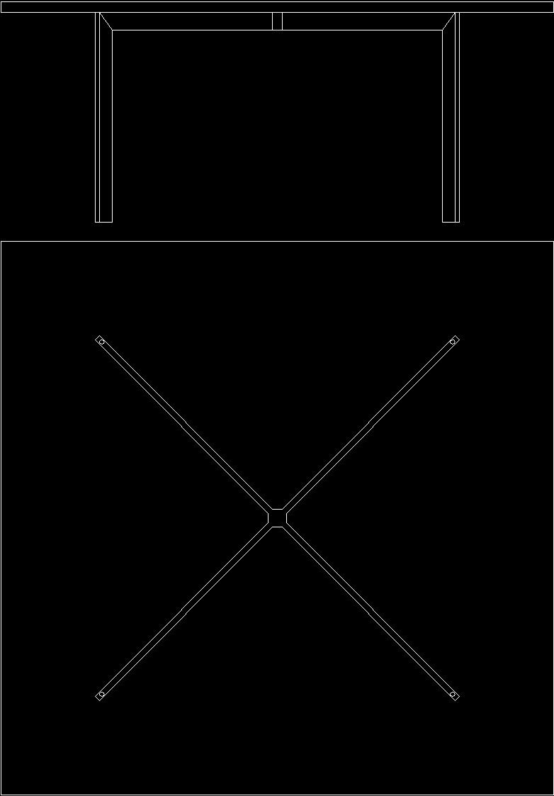 Mies Van Der Rohe Tugendhat Chair Dwg Block For Autocad  # Muebles Mies Van Der Rohe Autocad