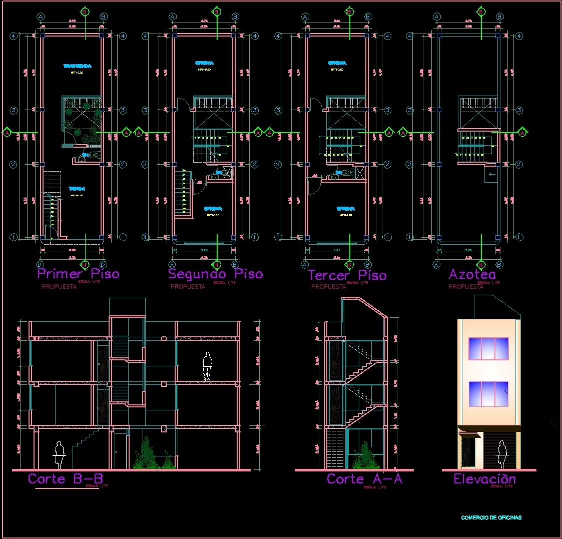 710 Gambar Rumah Minimalis Autocad HD Terbaru